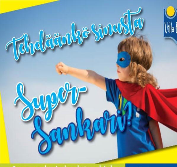 SuperSankarin koulutusohjelma!