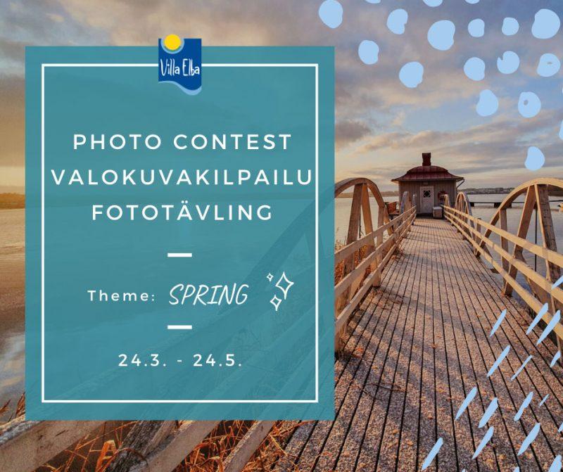 Villa Elba Photo Contests 2020 – SPRING // Valokuvakilpailu 2020 – KEVÄT // Fototävling 2020 – VÅREN