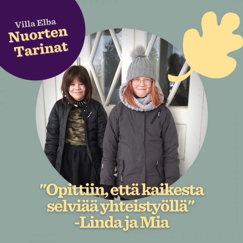 Nuorten tarinat: Leiriläisten Lindan ja Mian tarina