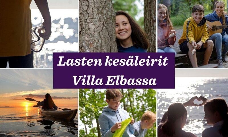 Villa Elban kesäleirit! – Ilmoittautuminen auki