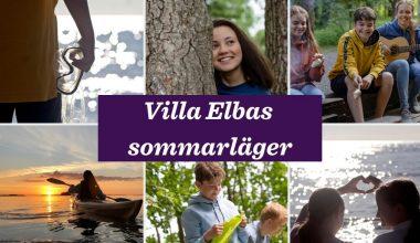Sommarläger på Villa Elba!
